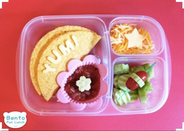 taco shell Lunch