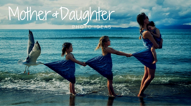 Mother Daughter photo ideas