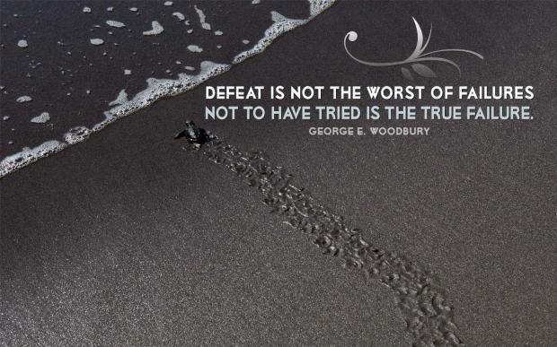 Defeat is not the worst