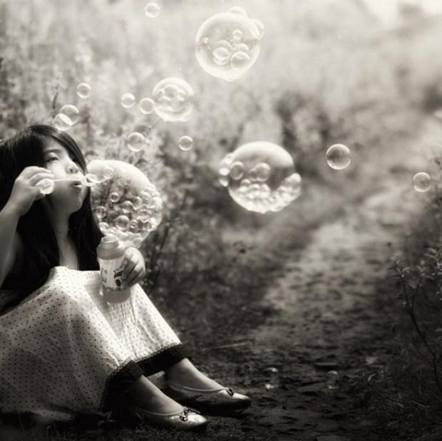 bubbles within bubble