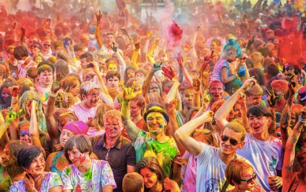 Colorfest Holi Russia