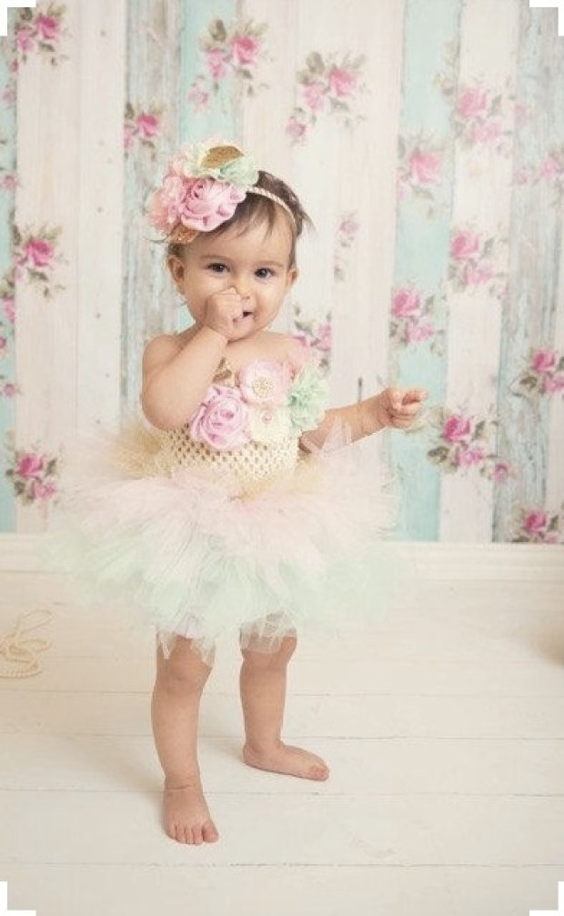 Beautiful Multi Shade Tutu Dress