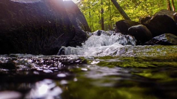 Exploring Hacklebarney State park using a Nikon Coolpix AW120 waterproof camera