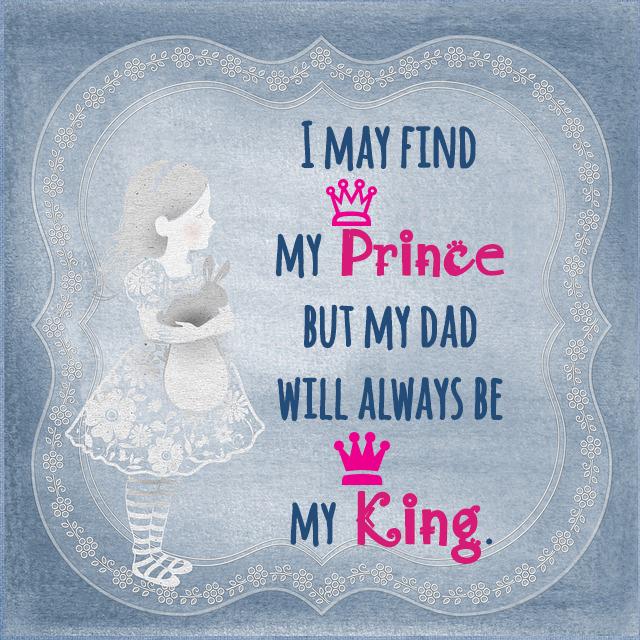 my dad my king