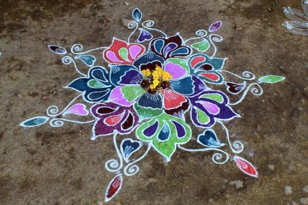 colorful-rangoli