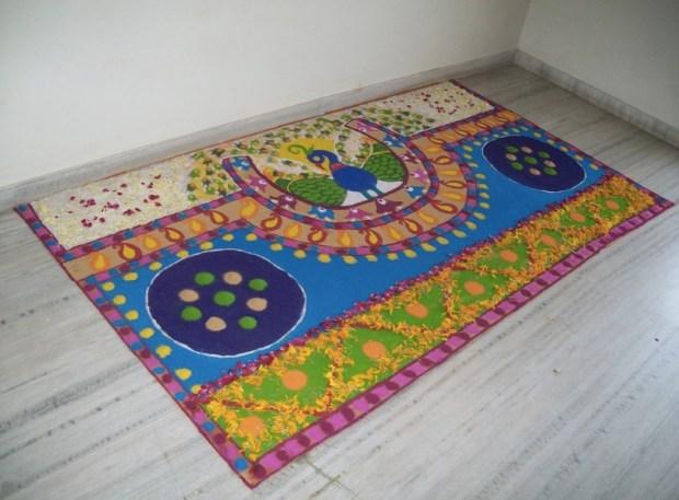 peacock-rangoli-design