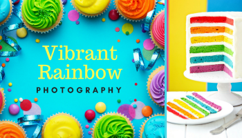 Vibrant rainbow photography