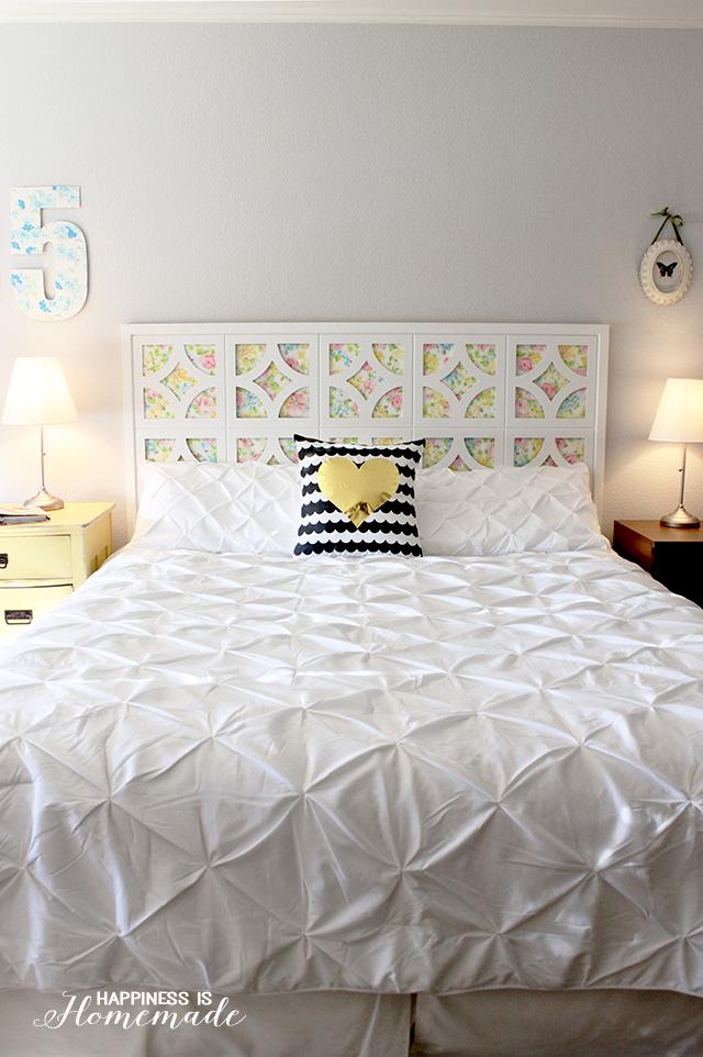 25 Cheap and Chic DIY Headboard Ideas on Cheap Bed Ideas  id=57436