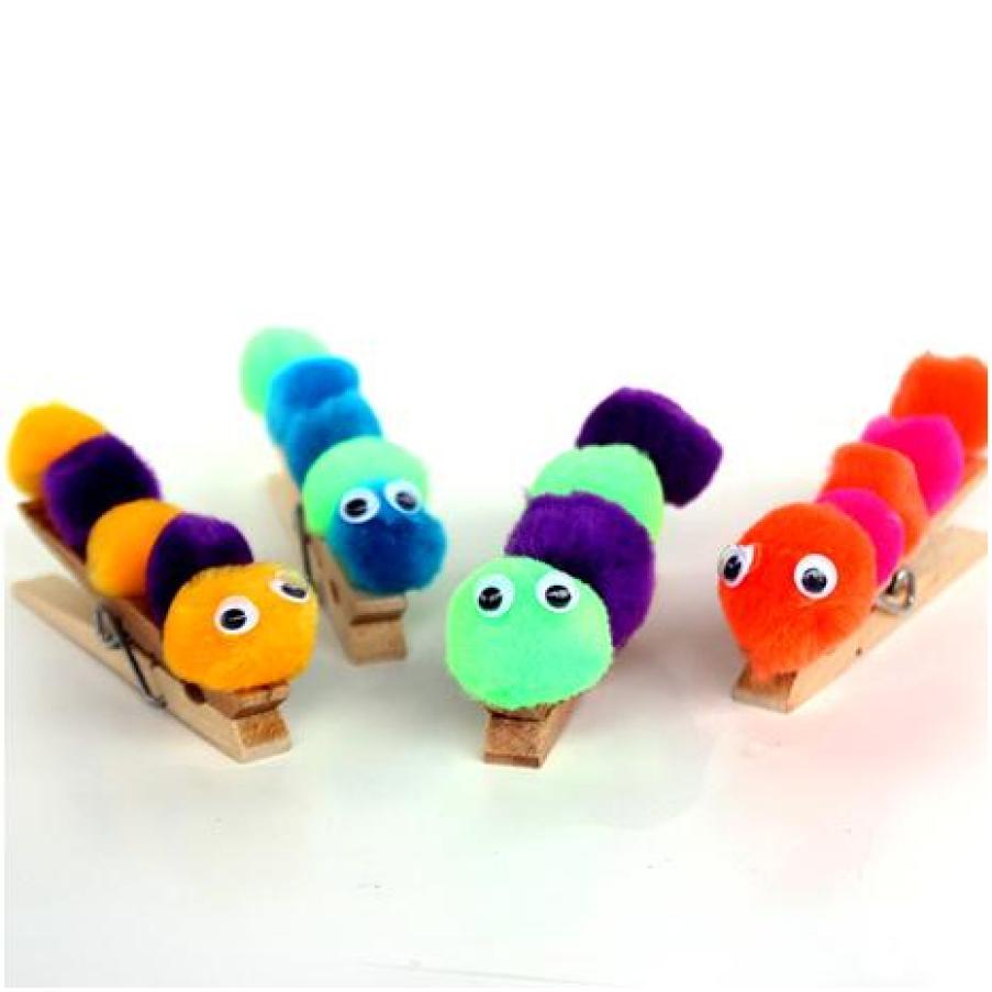Pom Pom Caterpillars