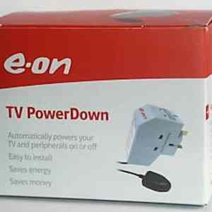 power down plug tv