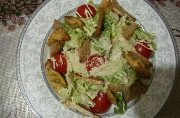 Цезарь 2 салат