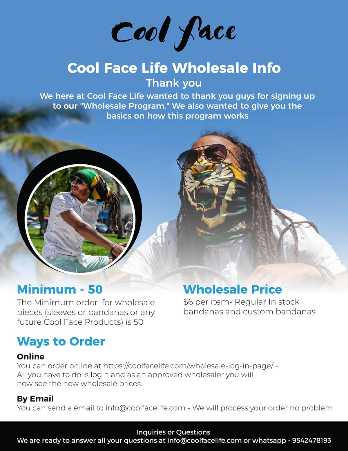 Cool Face Life Wholesale Explained