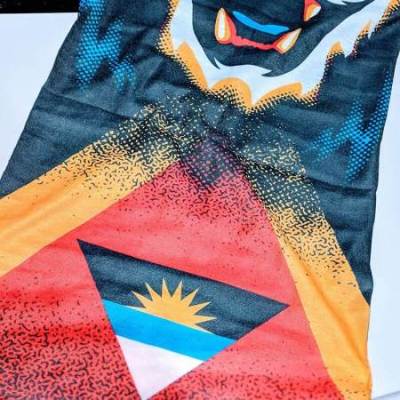 Antigua+-Barbuda Flag Face