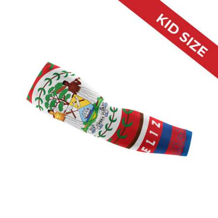 Kids Size - Belize Flag Arm Sleeve