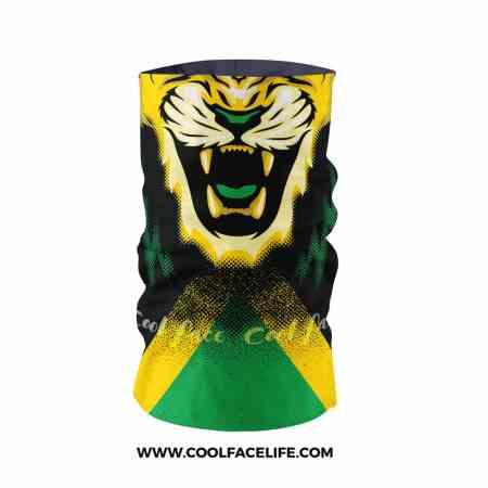 Jamaican Glow Flag Face Bandana 2