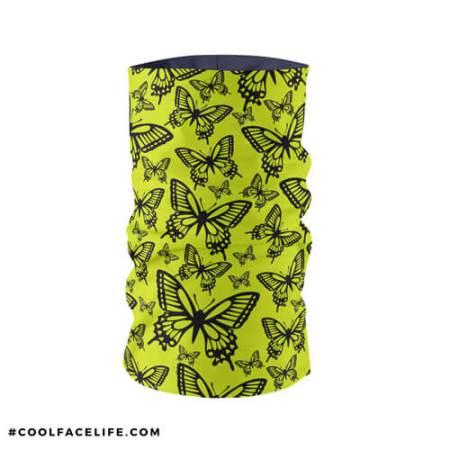 Green Butterfly Bandana