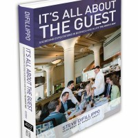 """Boobs, Whipped Cream and Sage Business Advice: Steve DiFillippo's new book """"It's All About the Guest"""""""