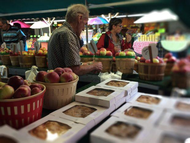 Jean Talon Market Montreal apple pie