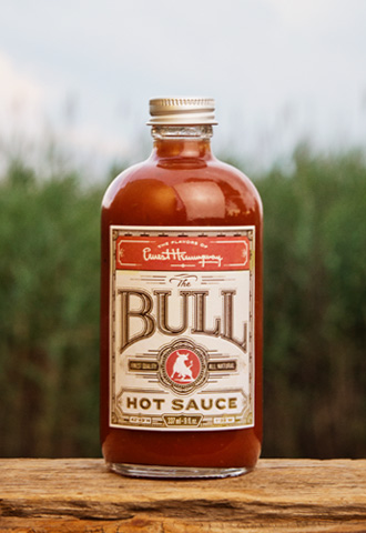 Ernest Hemingway Hot Sauce The Bull