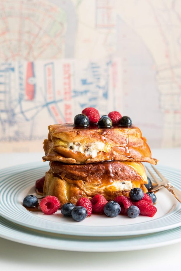 Pecan Stuffed French Toast