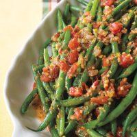Tomato-Ginger Green Beans