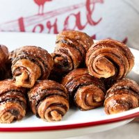 Yeasted Rugelach