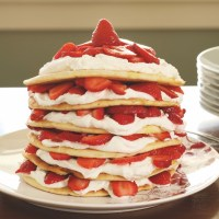 Seven-Layer Strawberry Torte