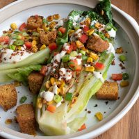 Grilled Romaine Bowl