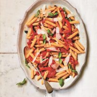 Penne with Trapanese-Style Pepper