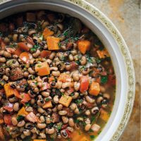 Black-Eyed Pea and Sweet Potato Stew