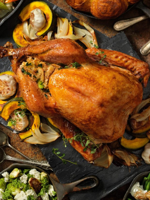 Monica's Classic Roast Turkey