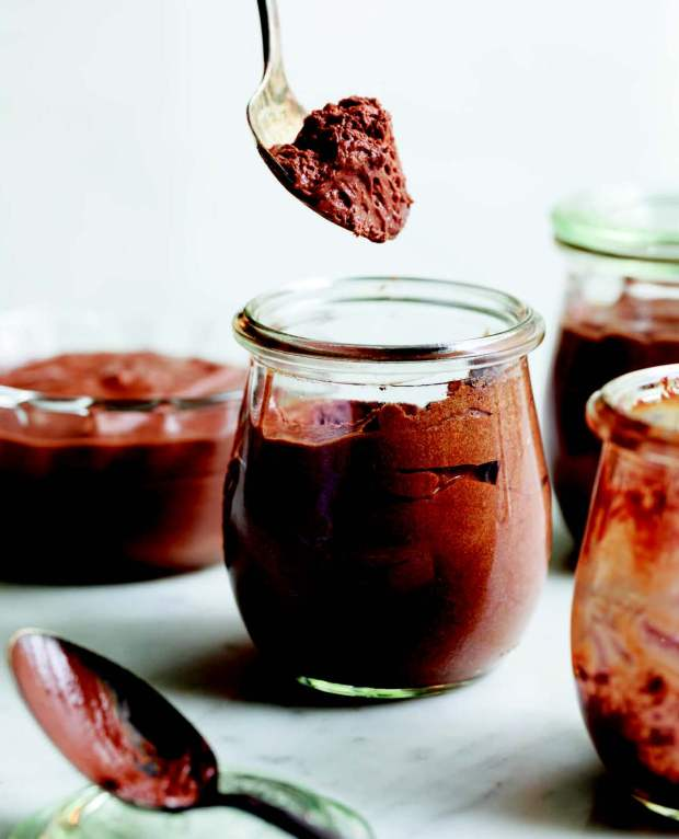 Salted Butter Caramel Chocolate Mousse
