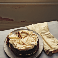 Spiced Carrot Cake with Cream Cheese and Butter Icing