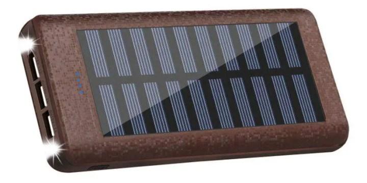 Rolisa Portable Solar Charger Power Bank