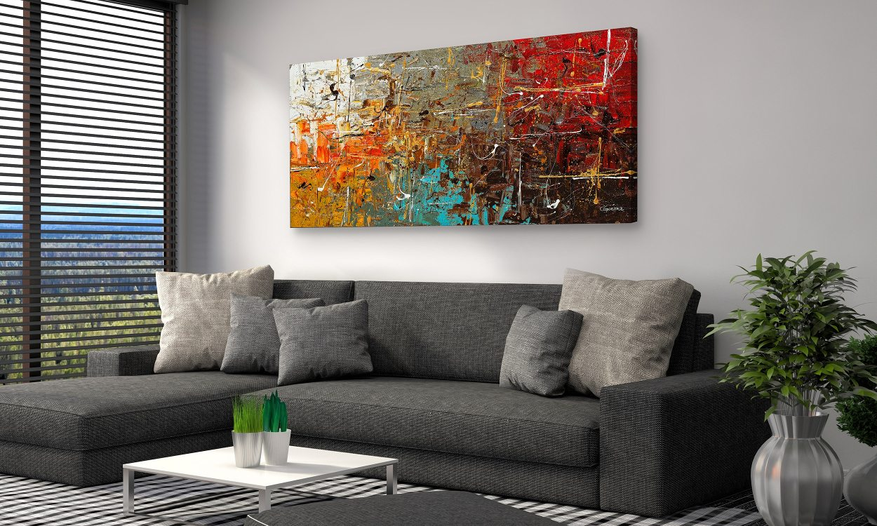 Boring Walls? Here Are Easy DIY Canvas Painting Ideas For ... on Room Painting id=73124