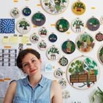 Profile picture of Sarah K. Benning Contemporary Embroidery
