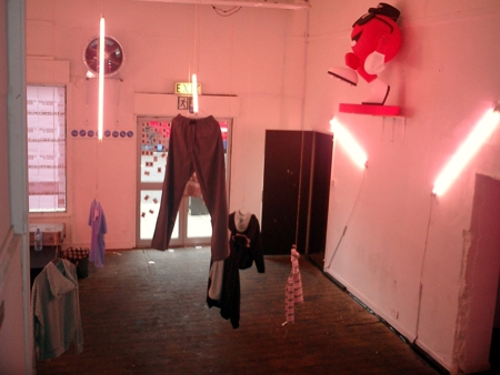 Umbro Guerilla Store Interior