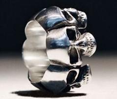 Skullflower-Ring