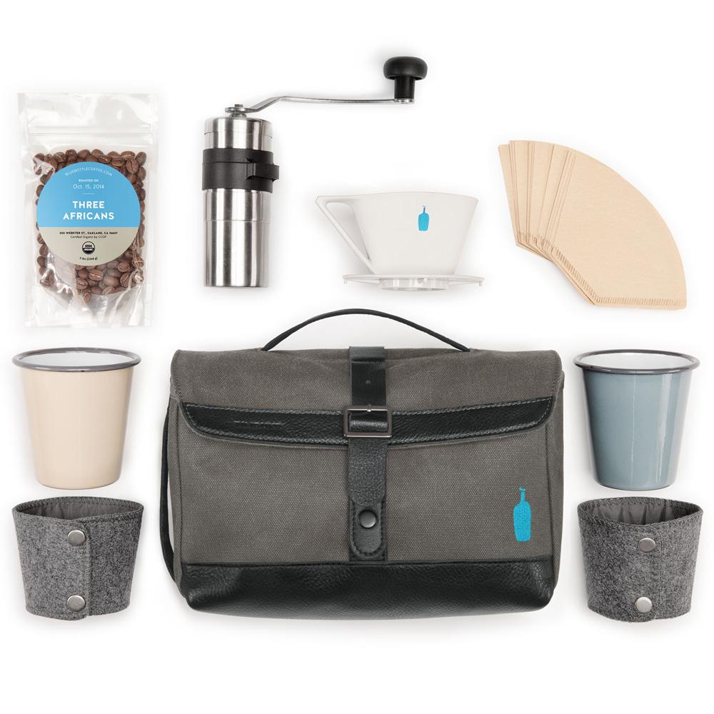 Timbuk2 Blue Bottle Coffee Travel Brew Kit Cool Hunting
