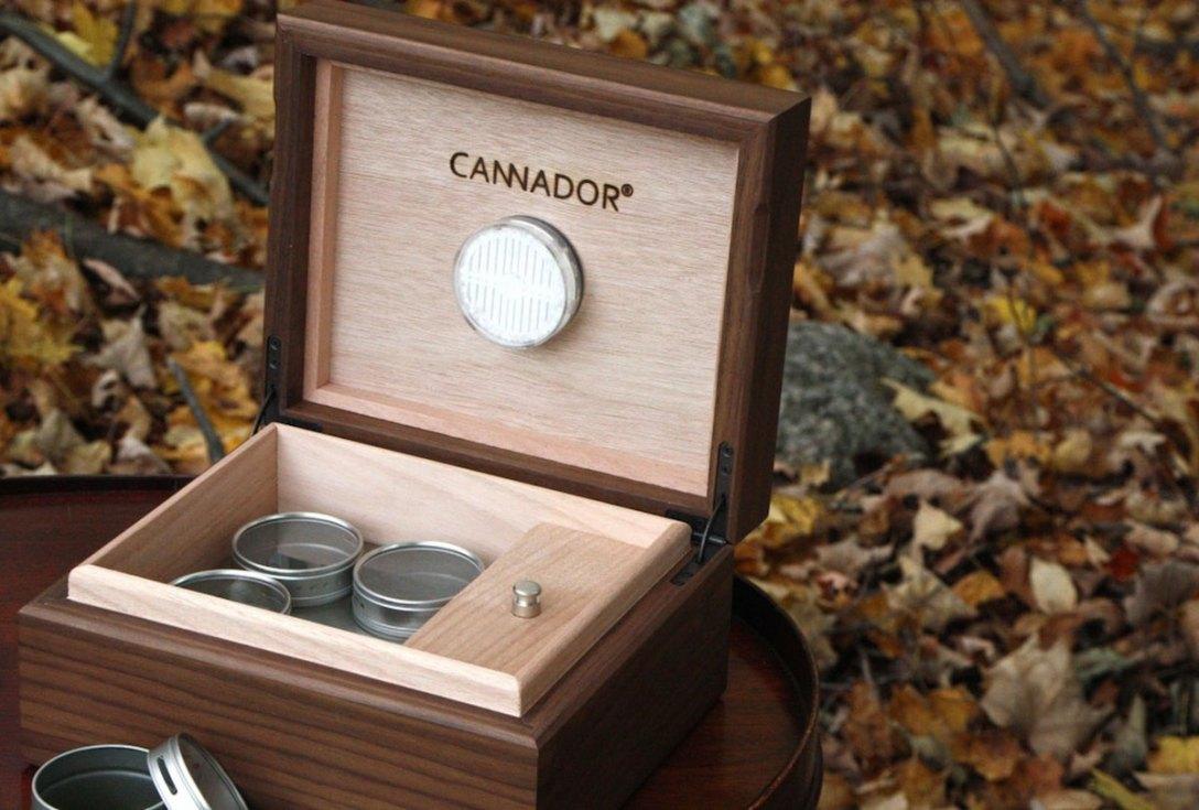 Cannador Medical Marijuana Storage Boxes