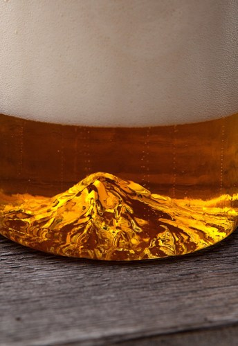 2609a7a752a6 North Drinkware s California Half Dome Pint Glass - COOL HUNTING