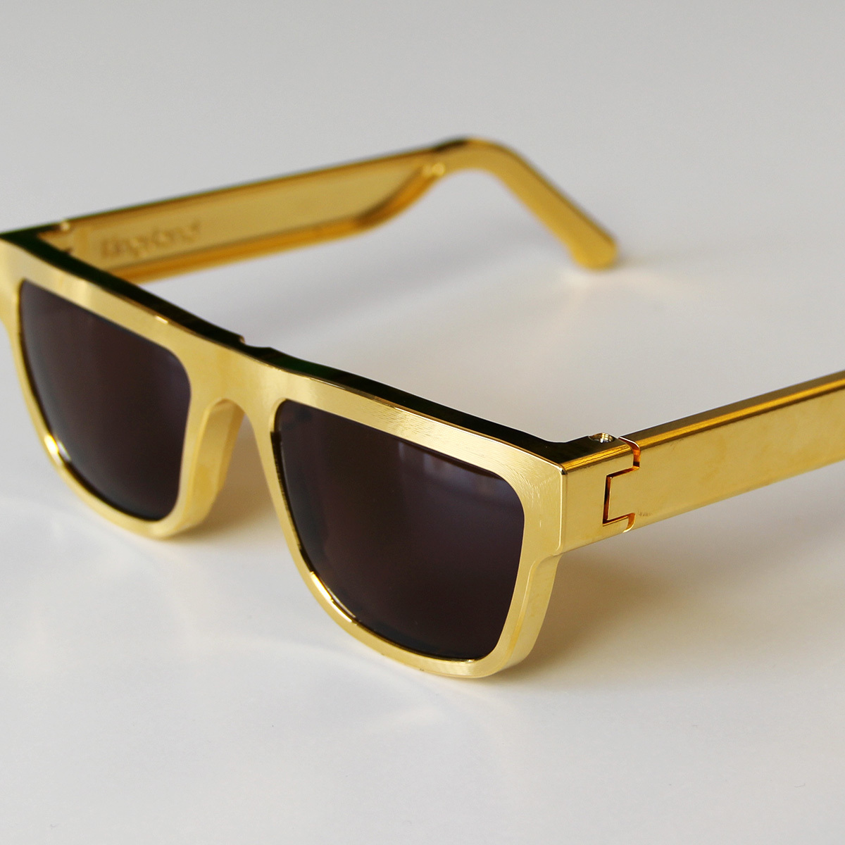 Gold-Plated Sunglasses