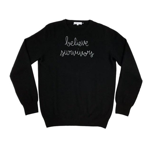"""Believe Survivors"" Sweater"