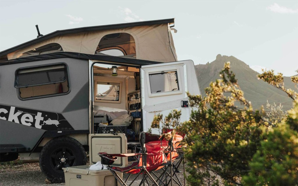 TAXA Outdoors' NASA-Inspired Campers - COOL HUNTING