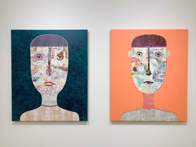 """Cuban Artist Héctor Frank's """"Color de Cabezas"""" Exhibit at Toth Gallery"""