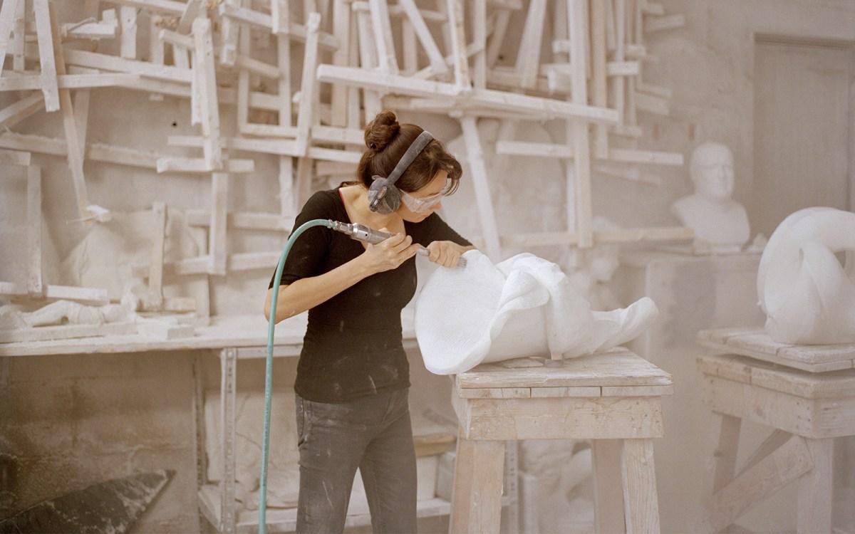 Sculptor Yoko Kubrick's Mythic Marble Works