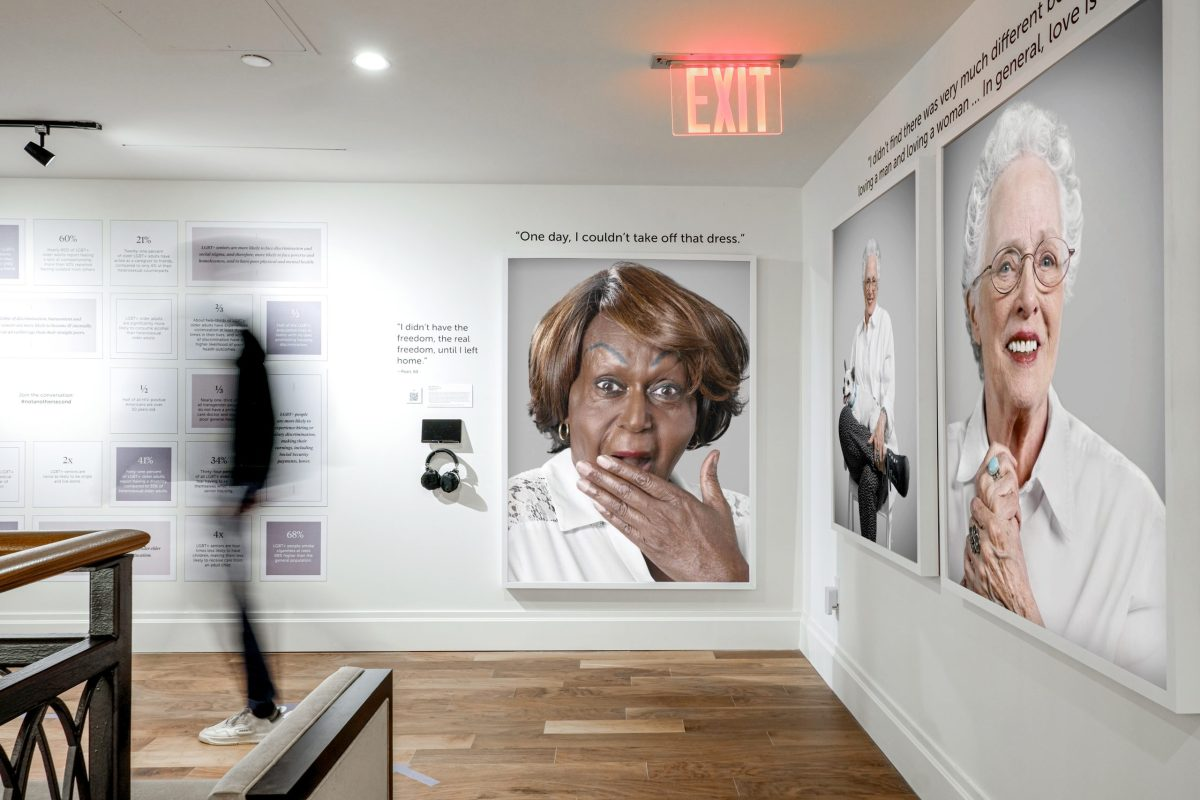 """Not Another Second,"" an Augmented Reality Exhibition Centered on LGBTQ+ Seniors"
