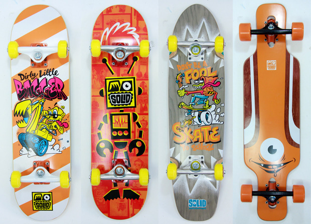 Solid Skateboards for Kids - COOL HUNTING