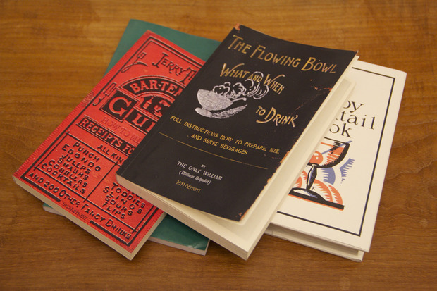The Flowing Bowl and Other Vintage Cocktail Books - COOL HUNTING