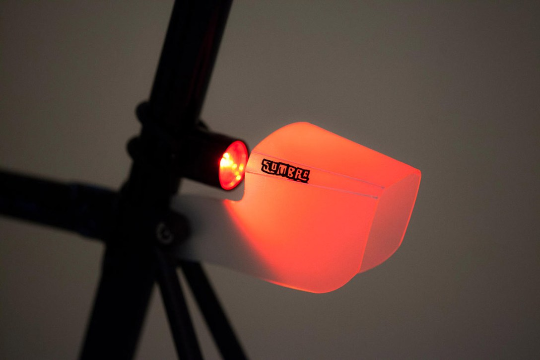 Meet Sombra, the Lampshade for Bike Lights